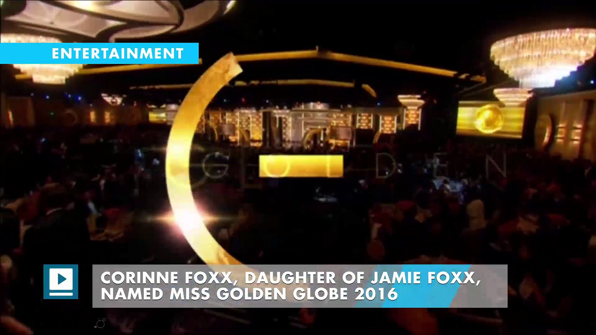 Corinne Foxx, Daughter of Jamie Foxx, Named Miss Golden Globe 2016