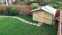 Un parano construit un bunker dans son jardin