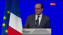 L'Etat fournira «des armes» de la police aux policiers municipaux, affirme Hollande aux maires