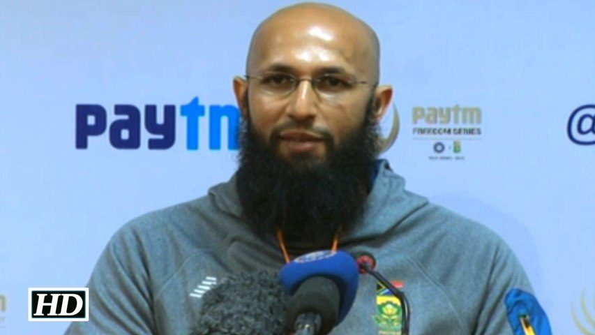 IND vs SA 2nd Test Hashim Amla Reacts as Bengaluru Test called off