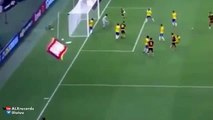 Increible gol Christian Santos Brazil vs Venezuela 2 1 13 10 2015
