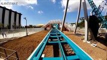 Manège Extrême SENSATION FORTE roller coaster pov HD