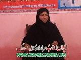 Moualma Rubab Haider Of Faisalabad Majlis 2 Muharram 2015 Chak 421 Karpala Tandlianwala