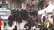 Saint-Denis : les images des premières interpellations
