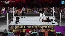 WWE Night Of Champions 2015 | The Undertaker VS Bray Wyatt VS The Boogeyman | WWE 2K15 #72