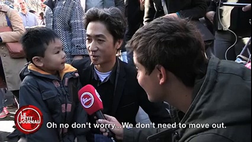 """""""Flowers Beat Guns"""": Father And Son Share Moving Conversation About Paris Attacks"""