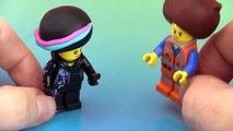 The LEGO Movie FRO MiniFigs WyldStyle Emmet Fro PLAY-DOH Hair Dance HobbyKidsTV