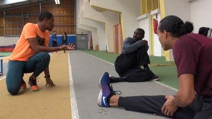 Un entraînement avec les Bleus à Saint-Malo