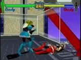 Fighting Vipers - Sega Saturn