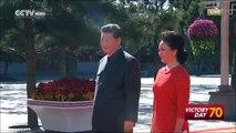 VIDEO: President Xi Jinping greets UN Secretary General Ban Ki moon