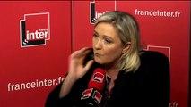 """Marine Le Pen : """"Nous n'avons pas les moyens de surveiller l'ensemble des personnes suspectes"""""""