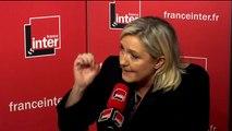 """Marine Le Pen : """"Les services de renseignement n'ont quand même pas trop mal fait leur travail"""""""