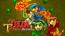 The Legend of Zelda : Tri Force Heroes   Nintendo 3DS Trailer Gameplay HD 1080p 30fps - E3 2015