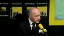 """Laurent Fabius : """"Les terroristes veulent susciter une guerre civile chez nous"""""""