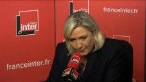 Attentat, surveillance d'internet : Marine Le Pen répond aux auditeurs du 7/9