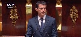Manuel Valls avertit d'un «risque d'armes chimiques et bactériologiques»