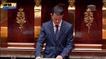 Valls avertit sur le risque d'attentats chimiques et bactériologiques