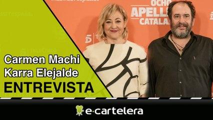 """Carmen Machi ('Ocho apellidos catalanes'): """"Sería estupendo hacer una tercera parte en Nueva York"""""""