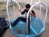 Rotating Swing