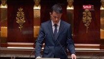 Manuel Valls n'exclut pas « le risque d'armes chimiques ou bactériologiques »
