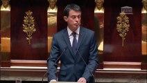 Attentat: Valls évoque un risque d'armes chimiques ou bactériologiques