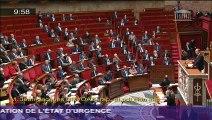 Discours de Jean-Jacques Urvoas - Etat d'urgence : installer le Parlement comme force de contrôle - 19-11-2015