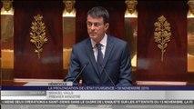 """Manuel Valls : """"Il peut y avoir le risque d'armes chimiques ou bactériologiques"""""""