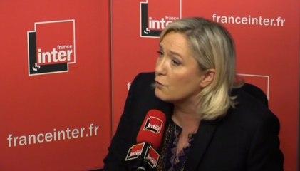 Marine Le Pen prise en flagrant délit d'intox sur France Inter