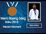 Medal Moments : Qais Ashfaq gets Bronze in Mens Boxing