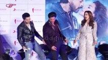 DILWALE Movie 2015 - Song GERUA - Shahrukh Khan, Kajol, Varun Dhawan, Kriti Sanon, Rohit Shetty At The Launch