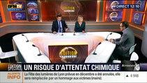 """Attentats de Paris : Arme Chimique : """"Il faut rester calme, aucune information ne laisse à penser qu'un attentat chimique est en préparation sur le territoire national"""", Olivier Lepic - 19/11"""