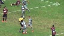 Gol de empate do Palmeiras acaba em expulsão por provocação ao juiz