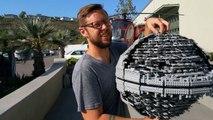 Star Wars Lego Destruction  - Behind the Scenes: Star Wars Lego Death Star Gets Destroyed with a Baseball Bat