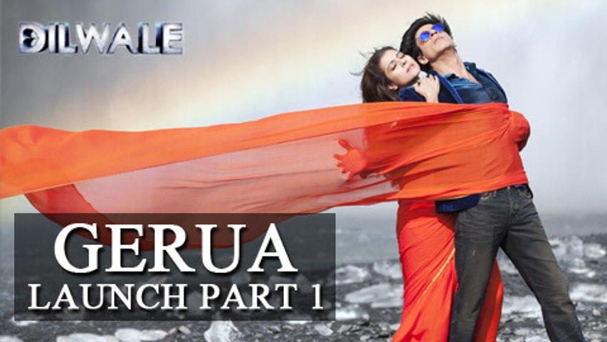 Gerua Song Launch | Dilwale | Shahrukh Khan, Varun Dhawan, Kajol, Kriti | PART 1