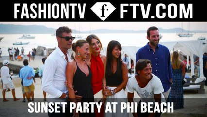 Sunset Party at Phi Beach Sardinia in Costa Smeralda | FTV.com