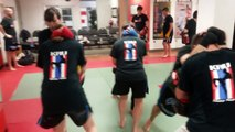 Muay Thai class in downtown Toronto - T.H.A Martial Arts & Kickboxing