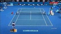 Novak Djokovic vs Stanislas Wawrinka 1st Set Australian Open 2015 SemiFinals Highlights HD