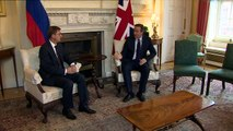 Cameron meets Slovenian Prime Minister at Downing Street