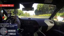 Sub-8 BTG Nürburgring: SEAT Leon Cupra ST 280 chases BMW M3 E36 track car