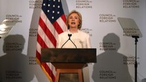 Hillary Clinton's foreign policy speech in less than 3 minutes