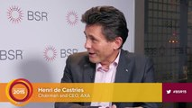 An Interview with Henri de Castries of AXA at the BSR Conference 2015