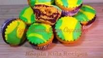 Camouflage Cupcakes - How to Make Tiger Camouflage Cupcakes