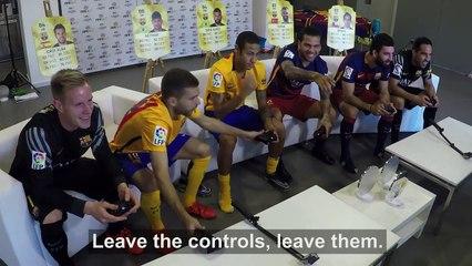 Time do Neymar contra time do Dani Alves no FIFA! Uma equipe ESCULACHOU a outra! Veja!
