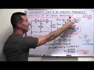 EEVblog #820 - Mesh & Nodal Circuit Analysis Tutorial