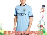 2014-2015 Man City Home Nike Football Shirt Blue Field Blue/obsidian/obsidian Size:FR : S (Taille