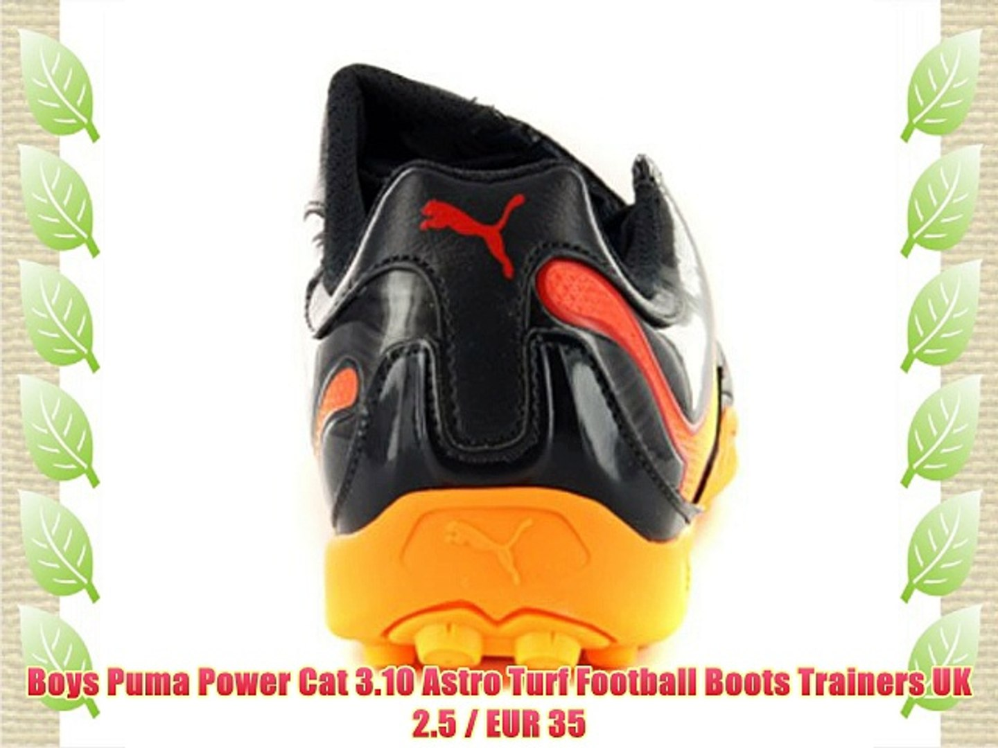 7281f2eac56c0 Boys Puma Power Cat 3.10 Astro Turf Football Boots Trainers UK 2.5 / EUR 35