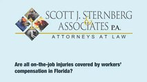 Job Injuries and Illnesses Covered by Workers' Compensation