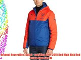 Arsenal Reversible Jacket - red/blue 2014 2015 Red High Risk Red-Estate Blue Size:M