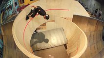 Tony Hawk rentre le tout premier looping horizontal