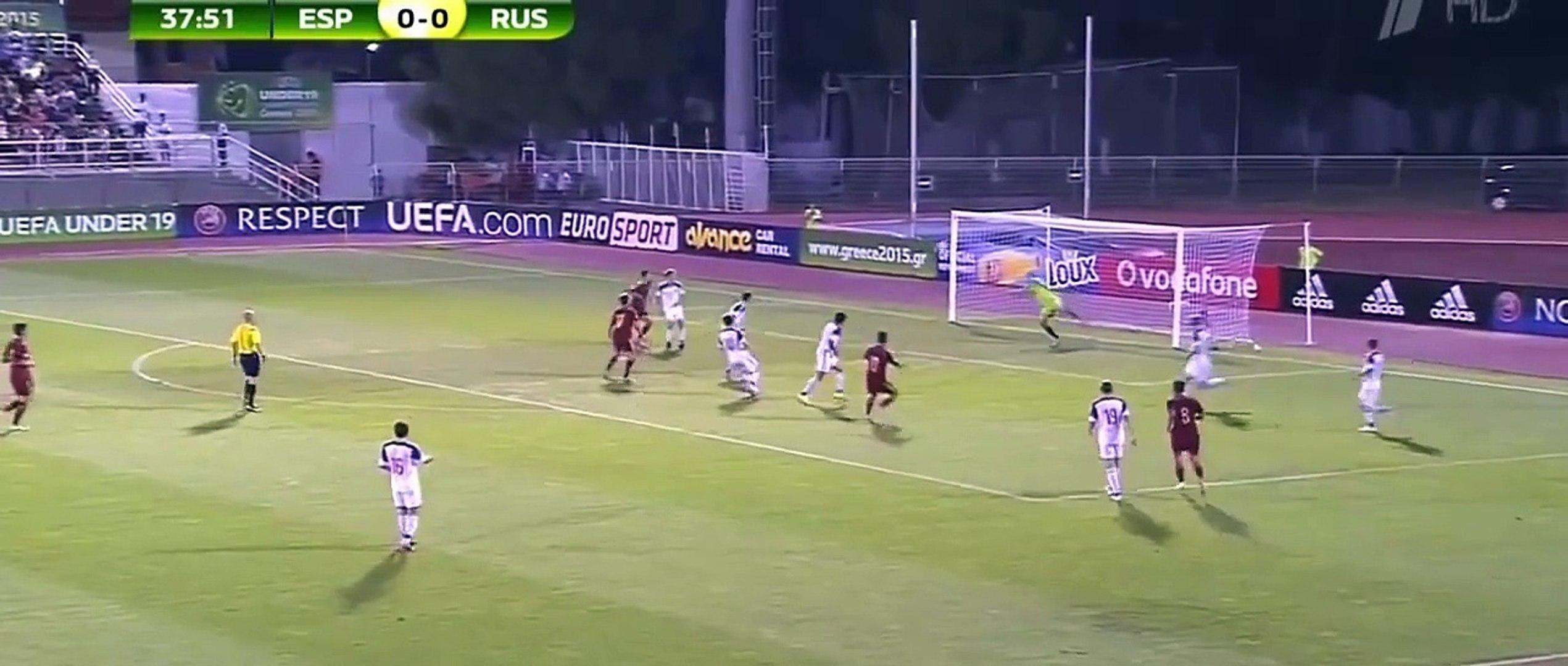 Borja Mayoral Goal   Spain U19 1 0 Russia U19   Euro U19 Final 2015 HD